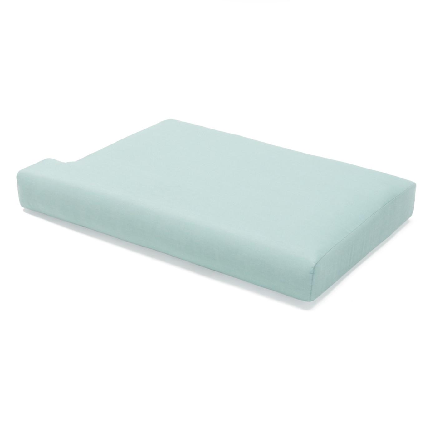 Portofino Casual 88in Sofa Right Base Cushion - Spa Blue