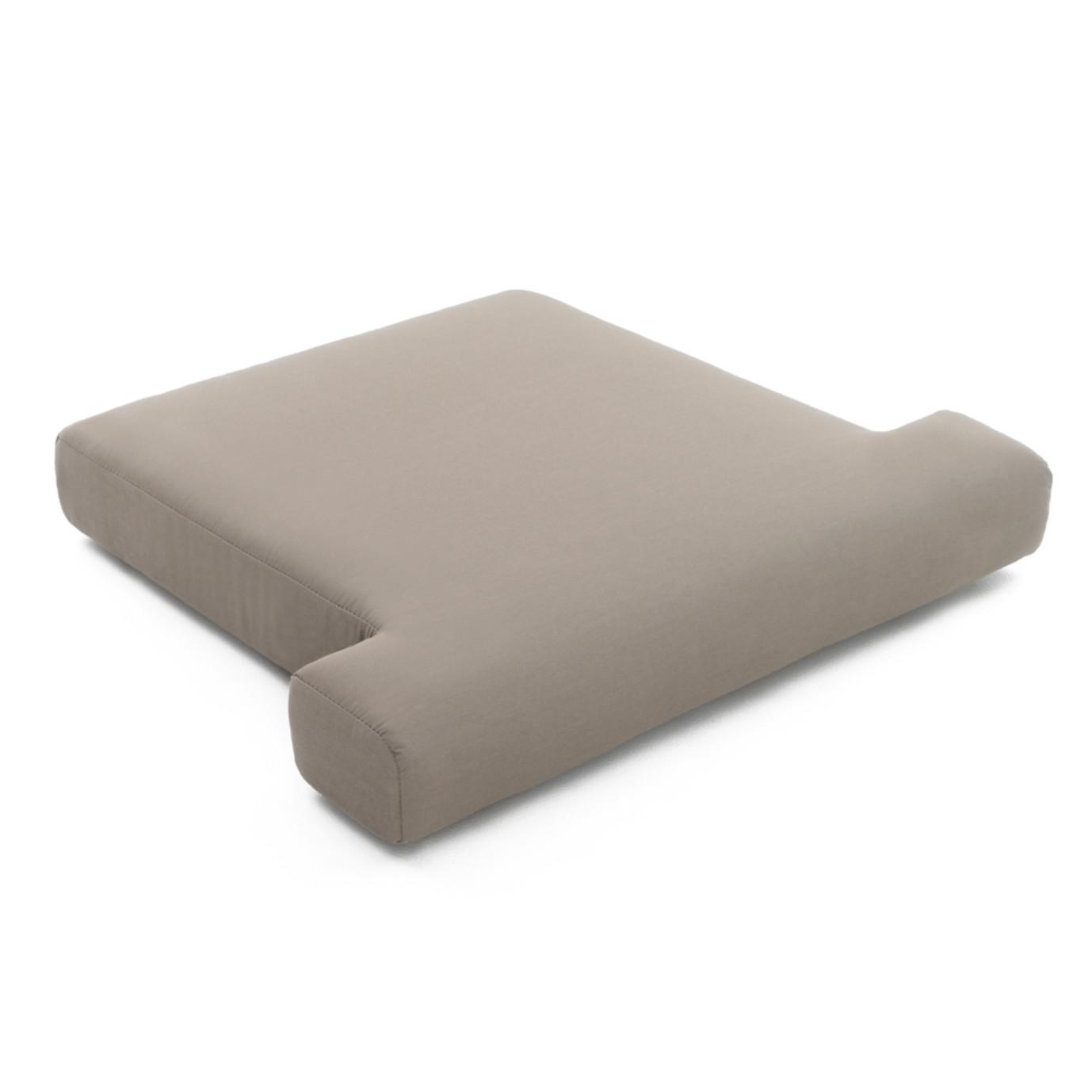 Portofino™ Comfort Club Chair Base Cushion - Kona Taupe