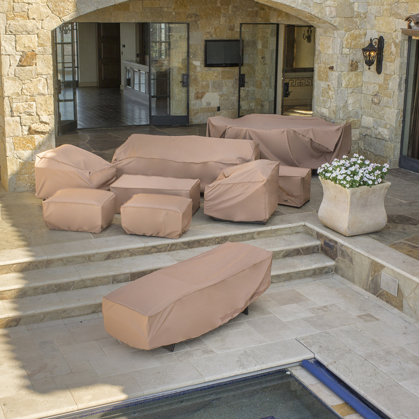 Portofino® 18pc Estate Dining Furniture Cover Set