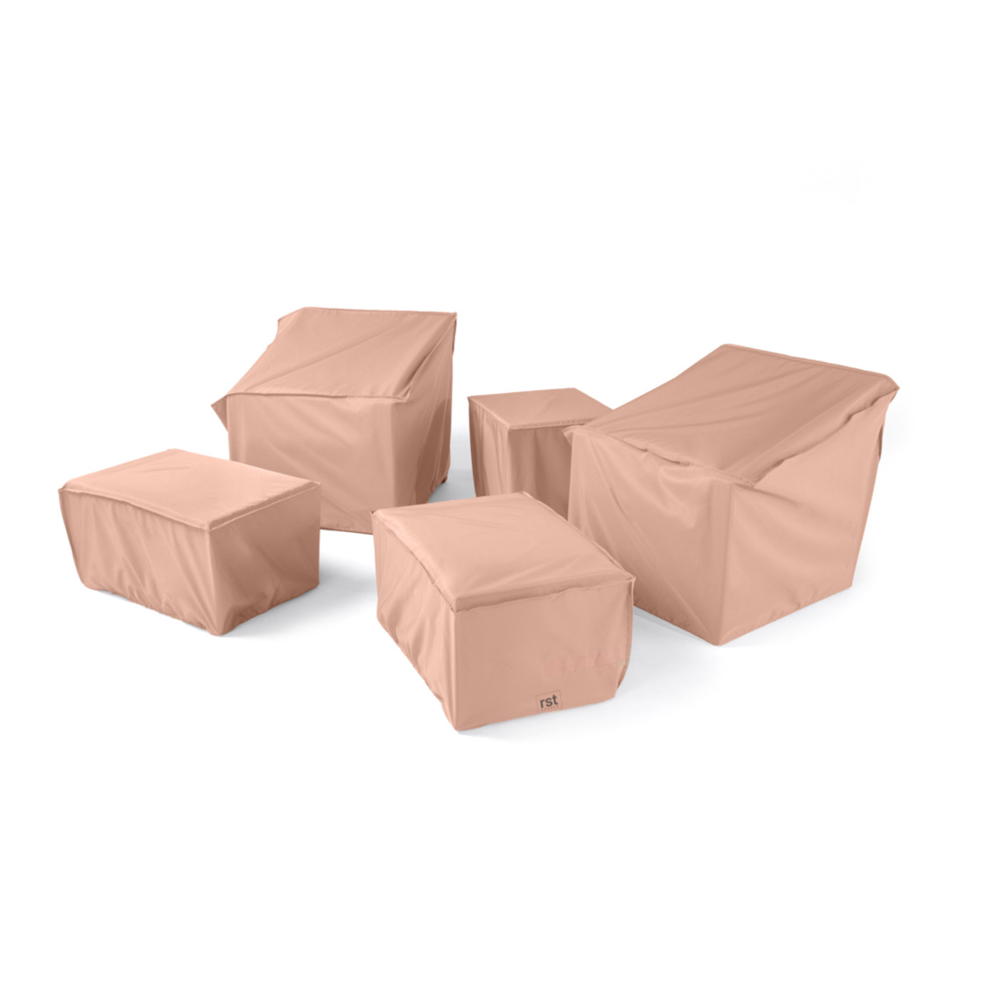 Modular Outdoor 5pc Club Furniture Cover Set