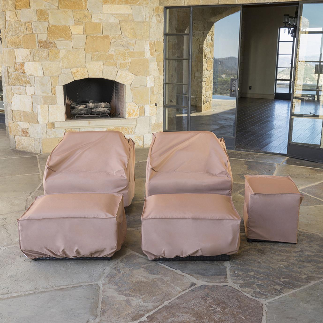Portofino® 5pc Club Chair Furniture Cover Set