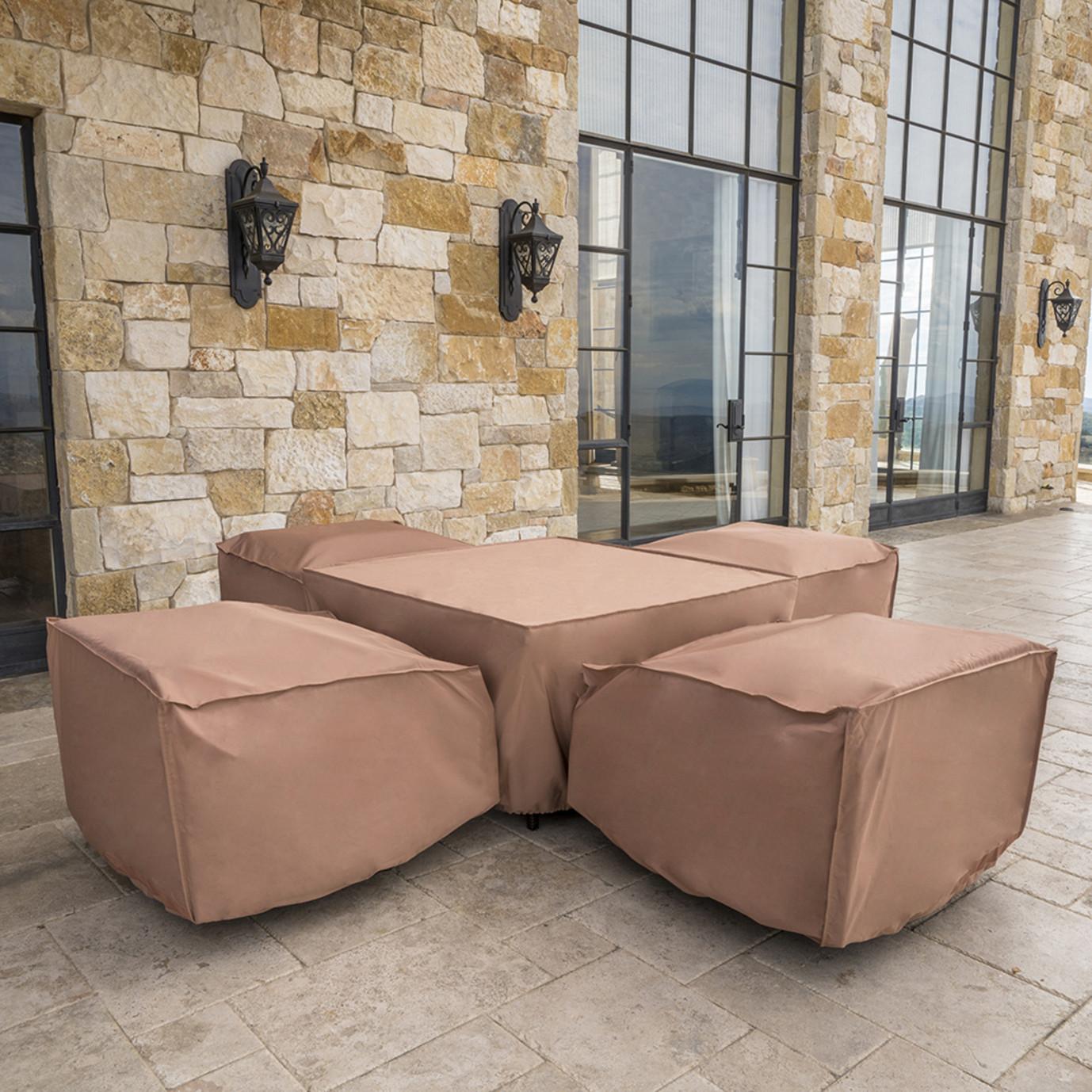 Portofino® 5pc Fire Chat Set Furniture Covers