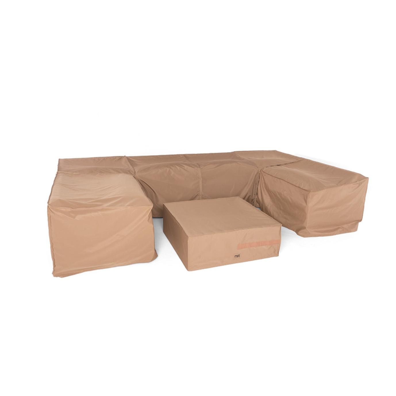 Portofino® Zipper Furniture Covers for 7pc U Sectional