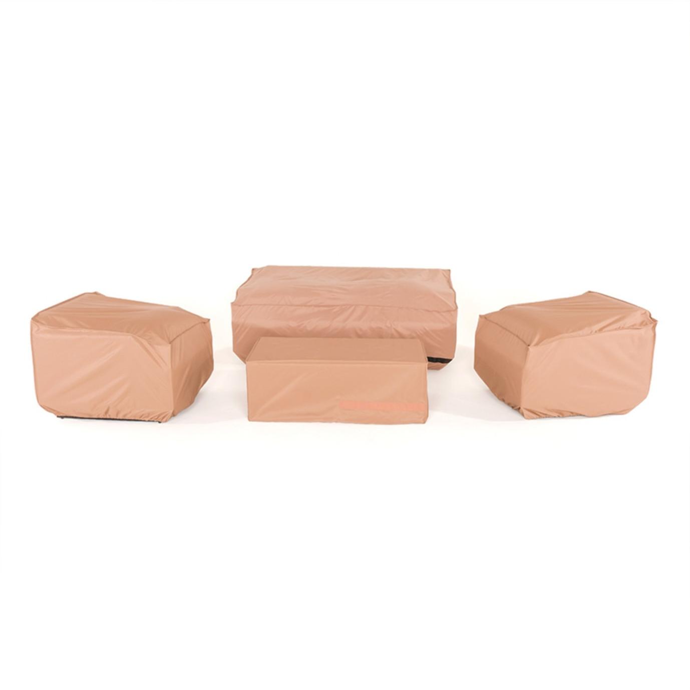 Milea/Mili 4pc Seating Storage Cover Set