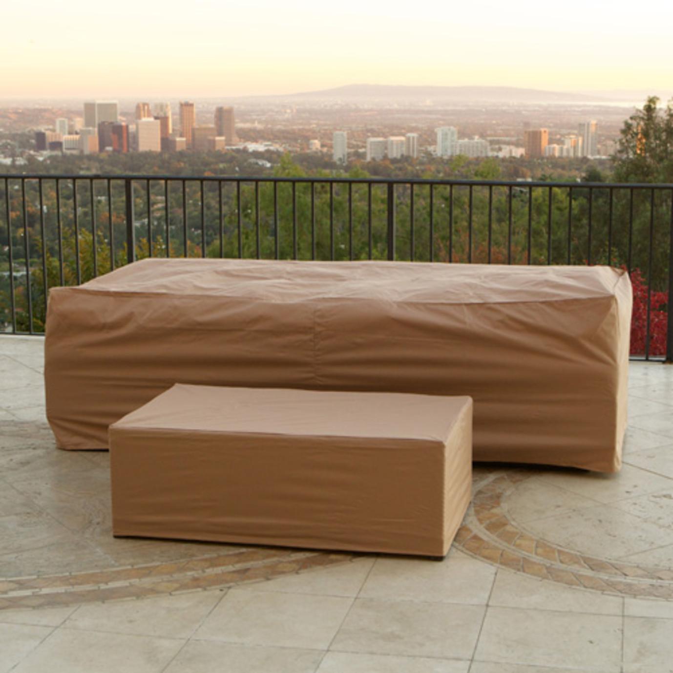 "Portofino Furniture Covers for 96"" Sofa & Coffee Table"