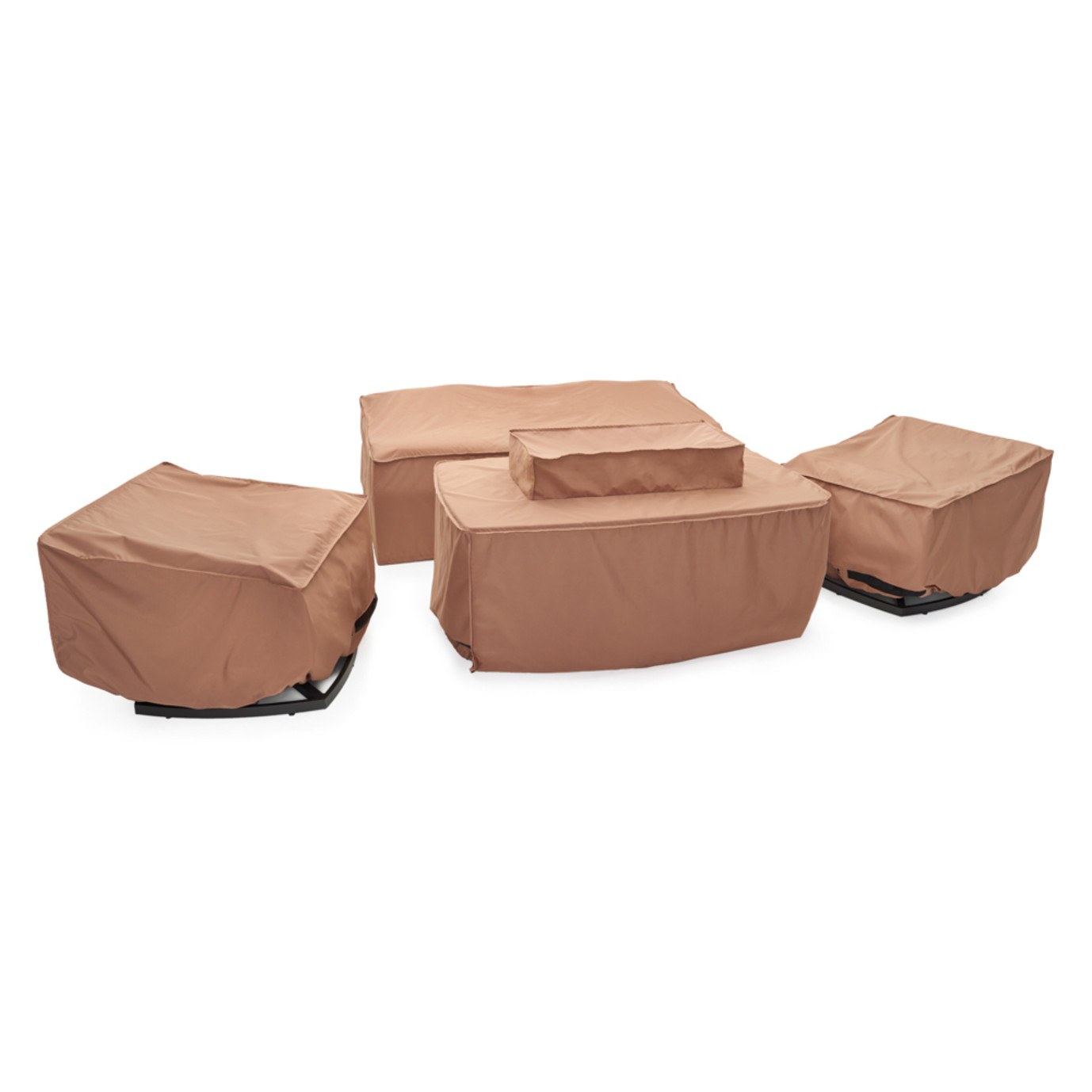 Vistano 4pc Fire Seating Set Furniture Covers