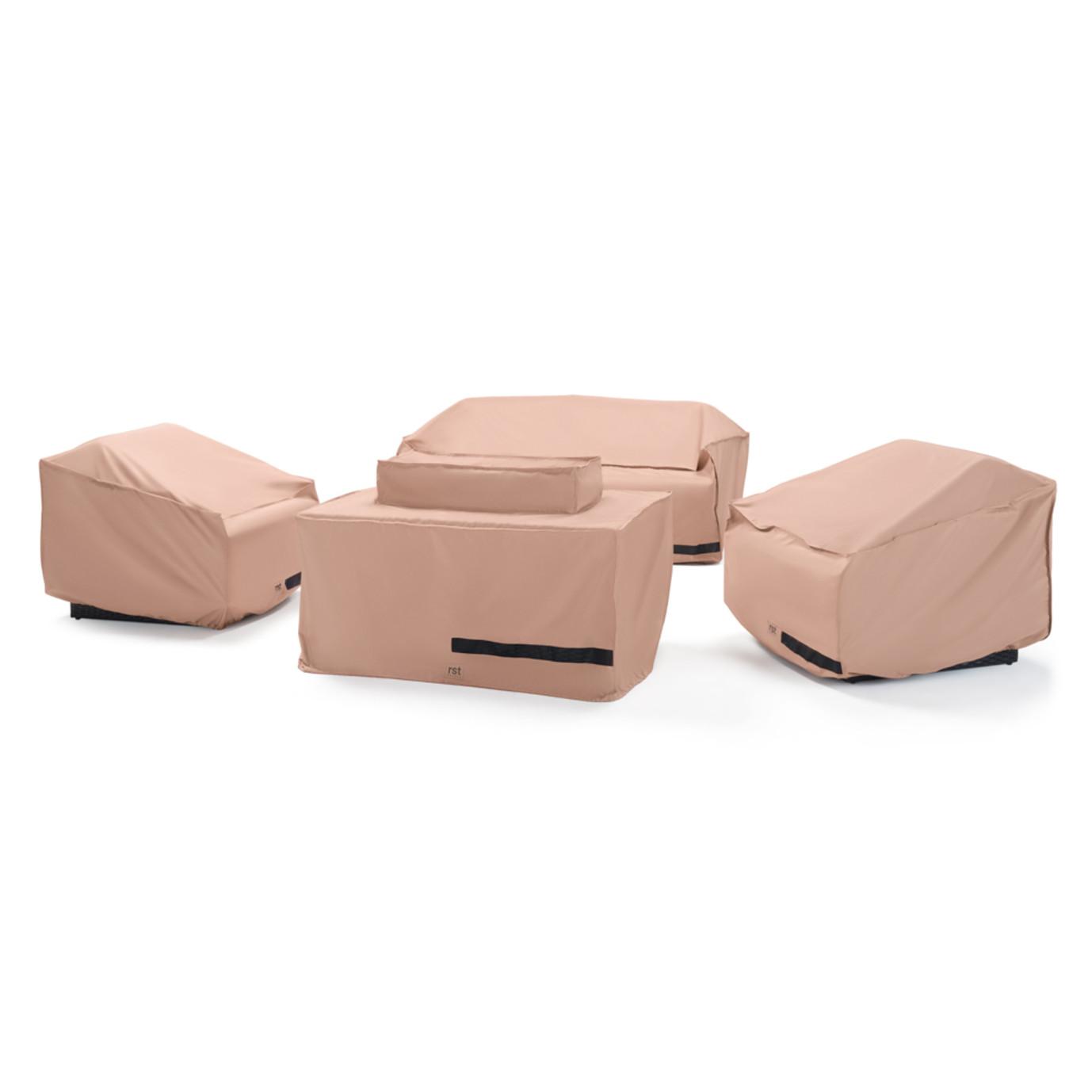 Portofino 4pc Motion Fire Furniture Cover Set