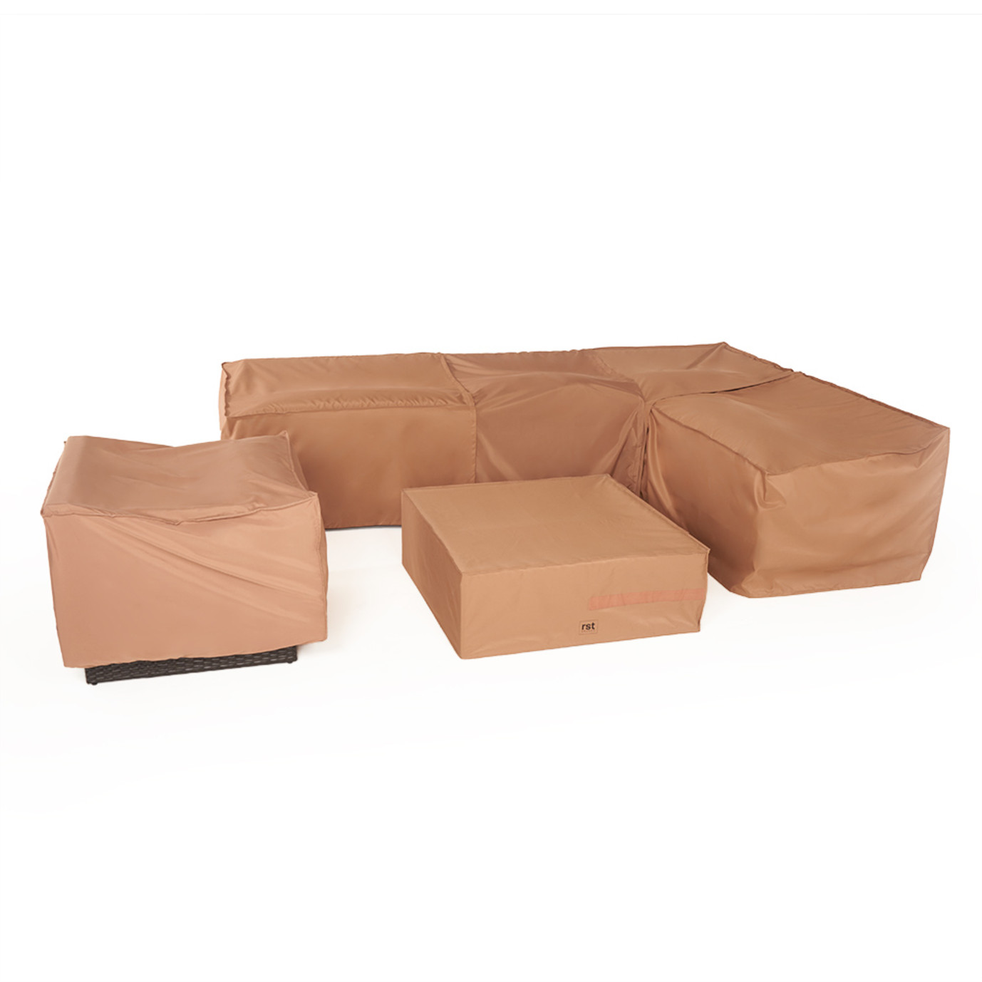 Portofino® Zipper Furniture Covers for 6pc Sofa Sectional 7x10