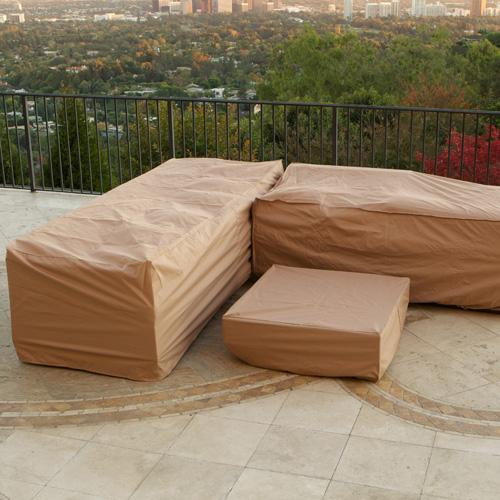 furniture outdoor covers. Portofino Furniture Covers For 6pc Sectional Outdoor