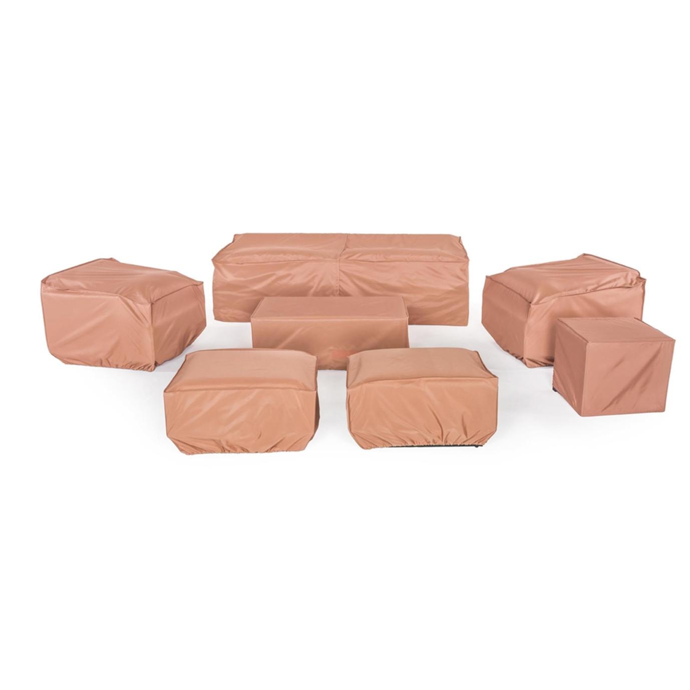Portofino® Comfort 8pc Motion Club Seating Furniture Cover Set