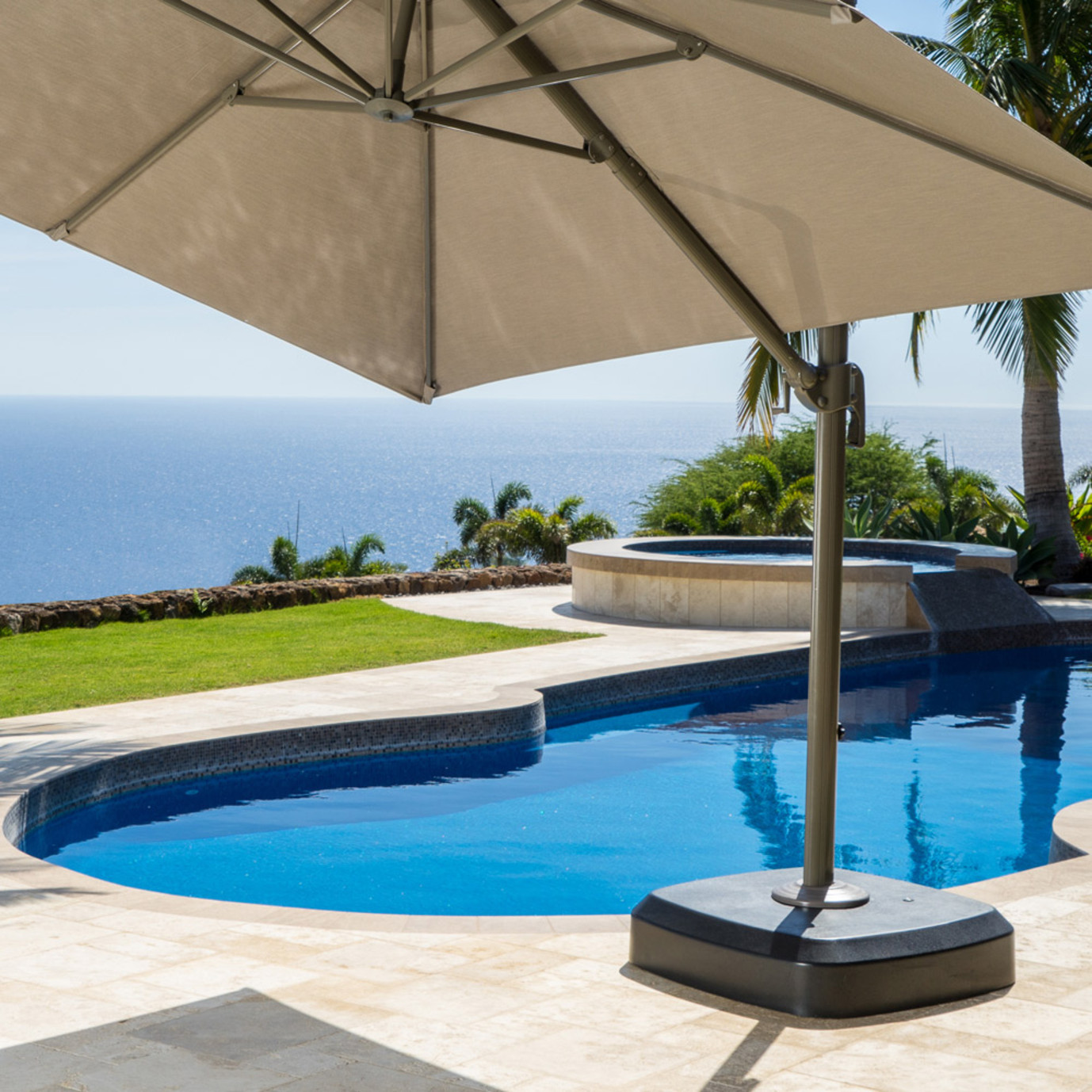 Portofino™ Comfort Umbrella Base with Foot Pedal