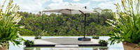Portofino® Comfort 10ft Resort Umbrella - Dove Gray