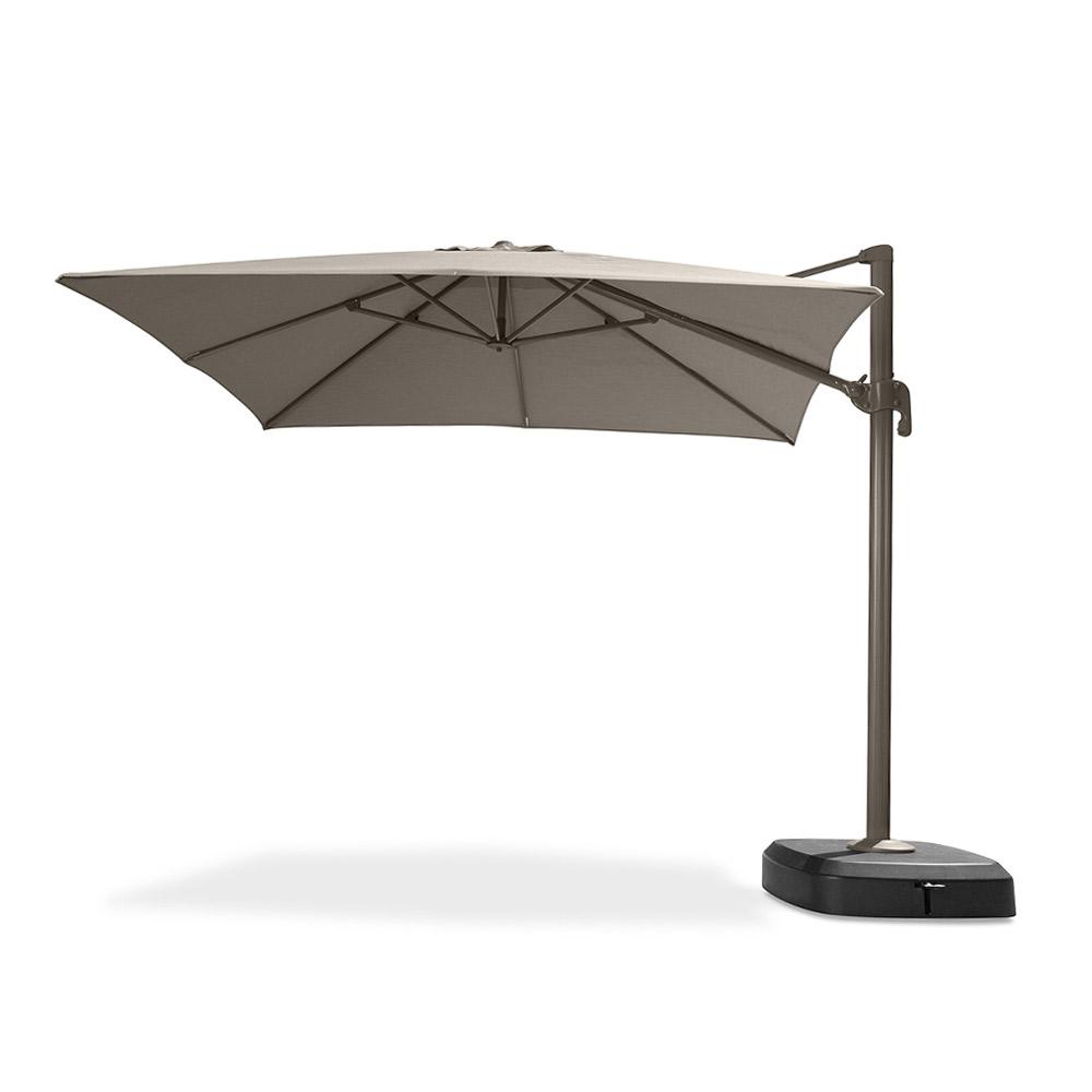 Portofino Comfort 10ft Resort Umbrella - Espresso Taupe