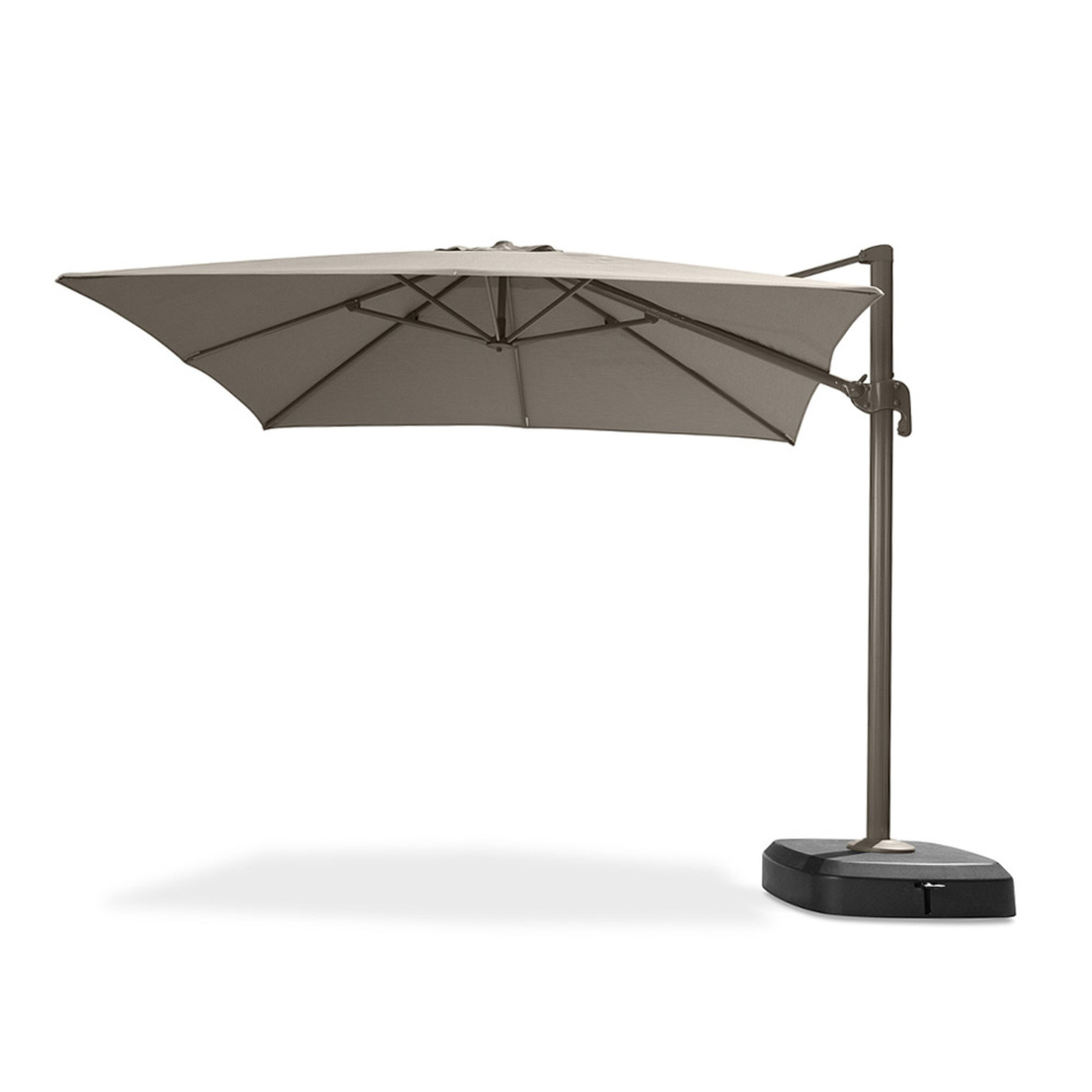 Portofino Comfort 10ft Resort Umbrella Espresso Taupe
