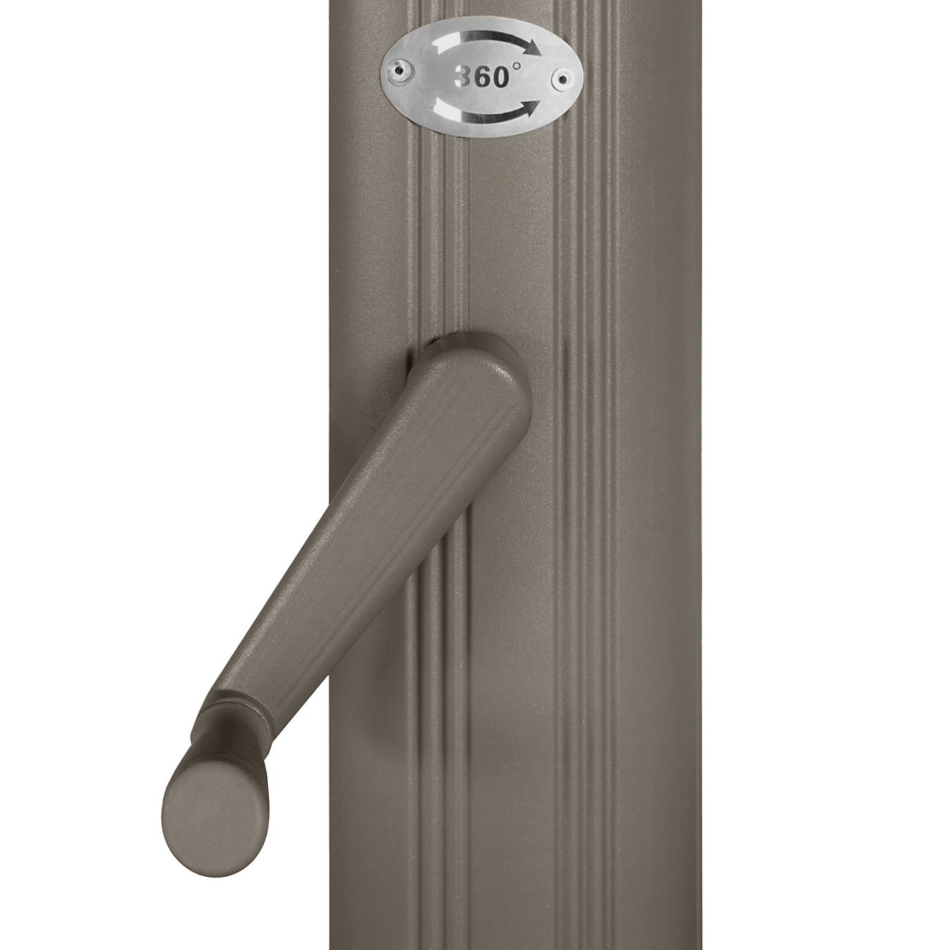 Portofino® Comfort 10ft Resort Umbrella - Espresso Taupe