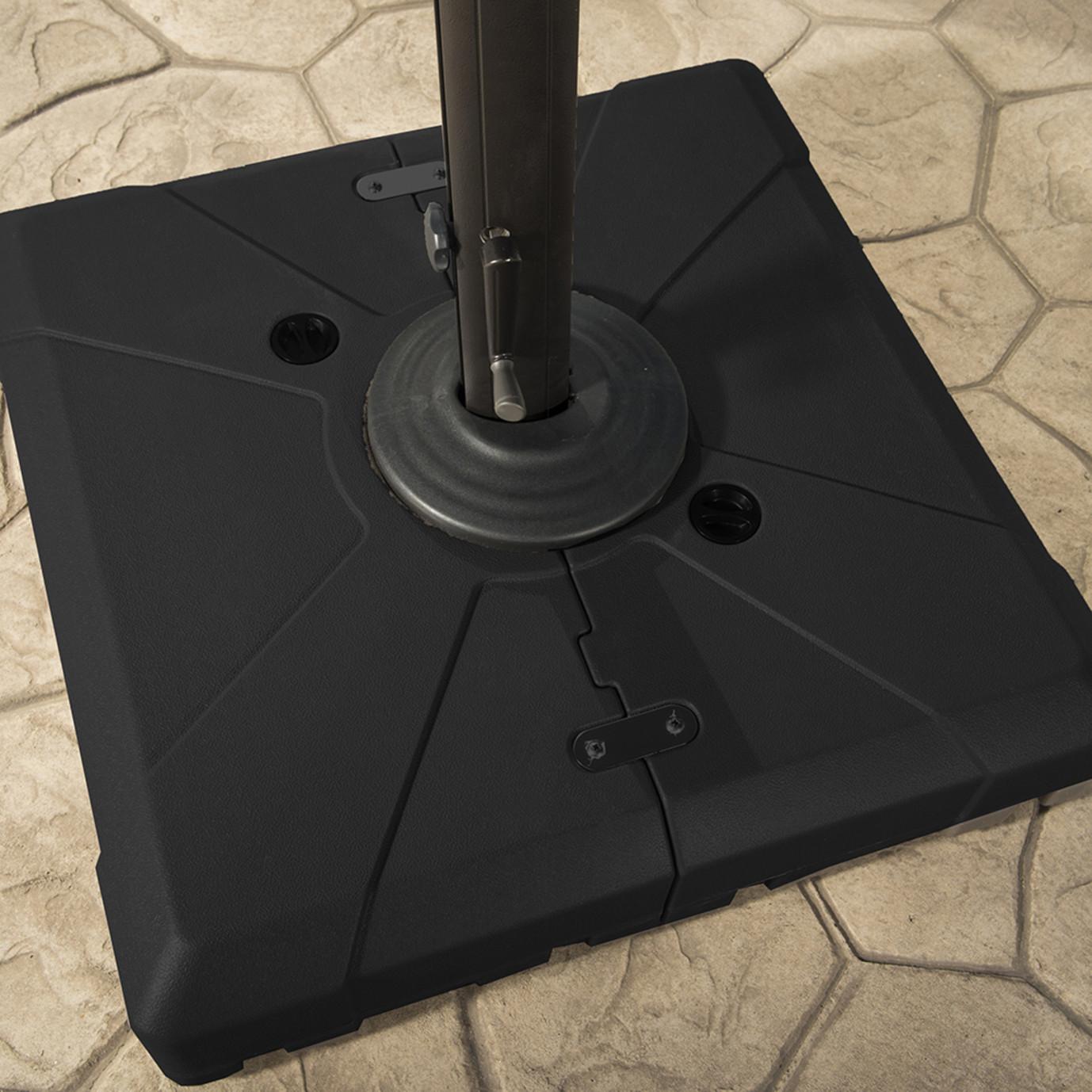 Modular Outdoor 10' Round Umbrella - Charcoal Grey
