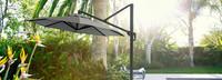 Modular Outdoor 10' Round Umbrella - Gray