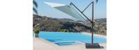 Modular Outdoor 10' Round Umbrella - Heather Beige