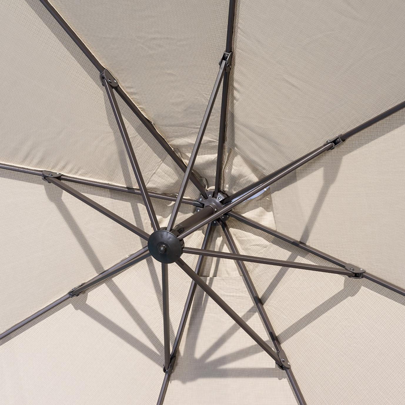 Modular Outdoor 10' Round Umbrella - Slate Gray