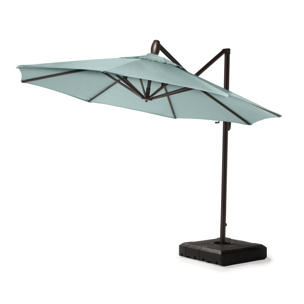 Modular Outdoor 10 Round Umbrella - Spa Blue