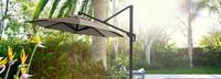 Modular Outdoor 10' Round Umbrella - Tan