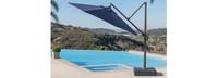 Modular Outdoor 10' Round Umbrella - Tikka Orange