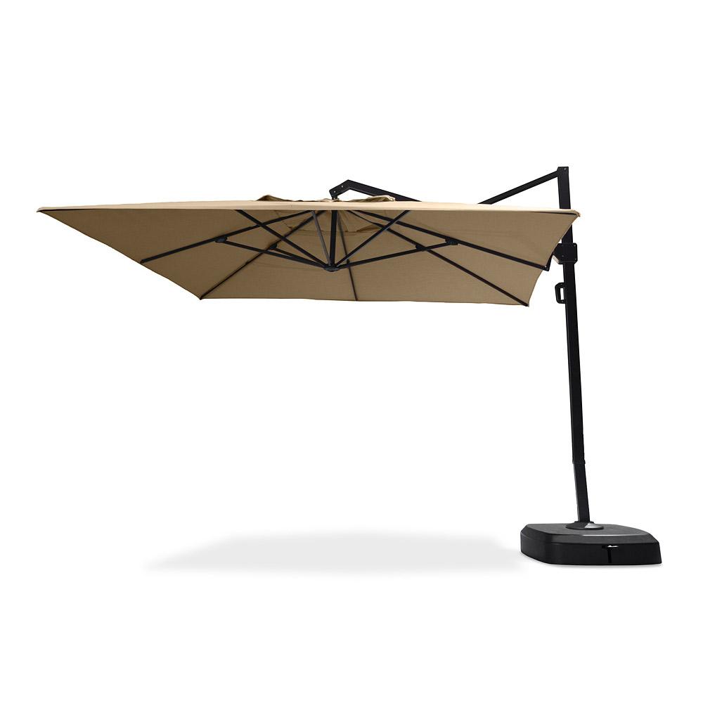 Portofino Commercial 12ft Umbrella - Heather Beige