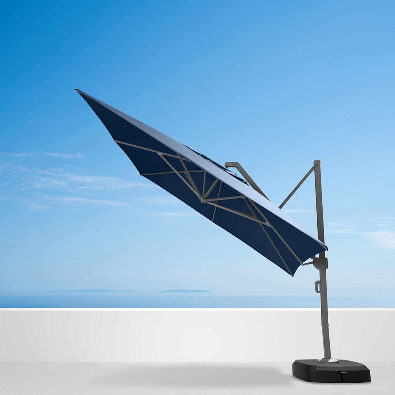 Portofino® Commercial 12ft Umbrella - Laguna Blue