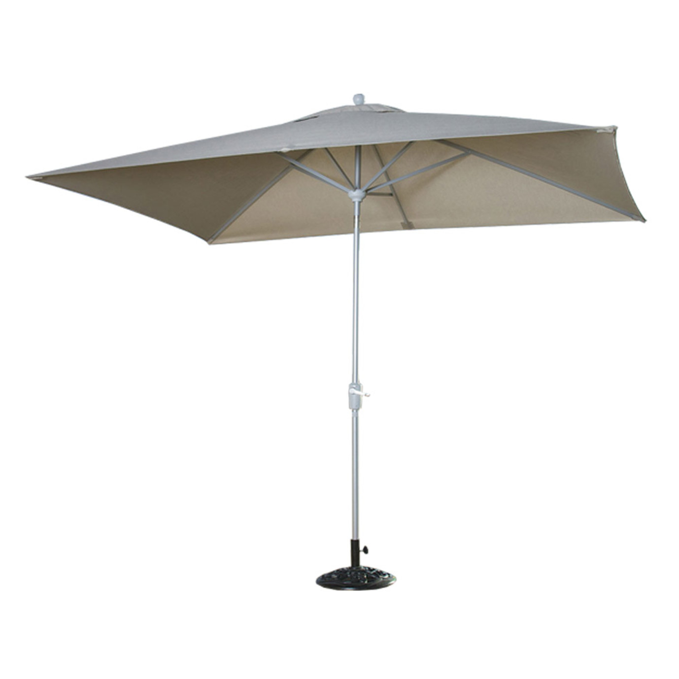 Portofino® Comfort Auto-Tilt Dining Umbrella - Taupe Mist