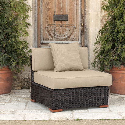 Resort™ Armless Chair - Resort Outdoor Furniture Collection RST Brands