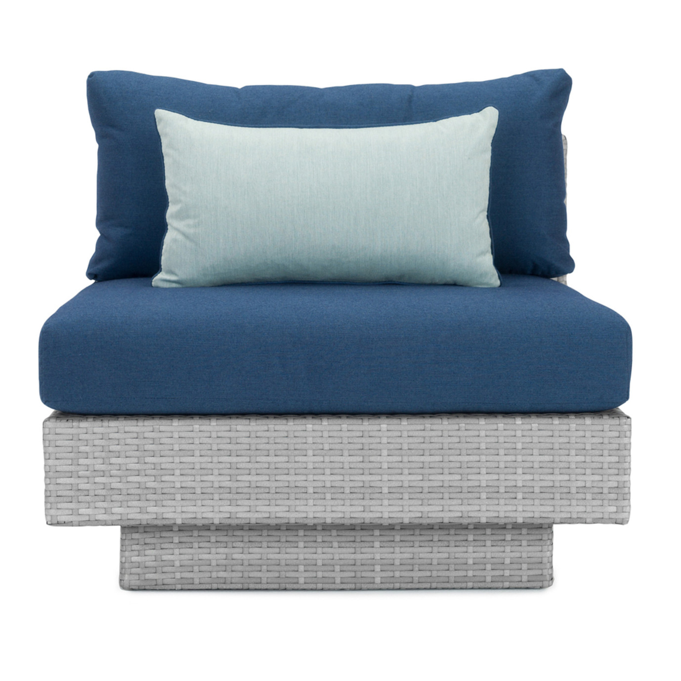 Portofino® Comfort Single Armless Chair - Laguna Blue