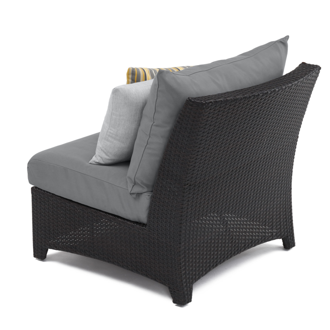 Deco™ Armless Chairs - Charcoal Gray