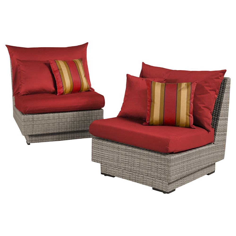 ... Cannes Armless Chairs   Cantina Red ...