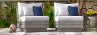 Cannes™ Armless Chairs - Ginkgo Green