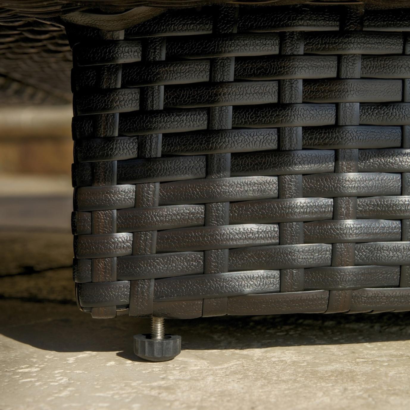 Portofino™ Comfort Armless Chairs - Heather Beige