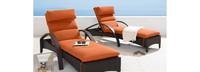 Barcelo™ Chaise Lounge 2pk - Bliss Blue