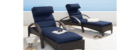 Barcelo™ Chaise Lounges - Charcoal Gray