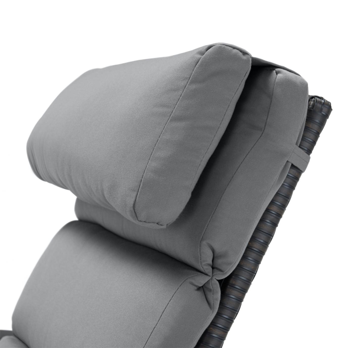 Barcelo™ Chaise Lounge 2pk - Charcoal Gray