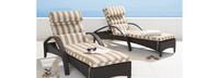 Barcelo™ Chaise Lounge 2pk - Ginkgo Green