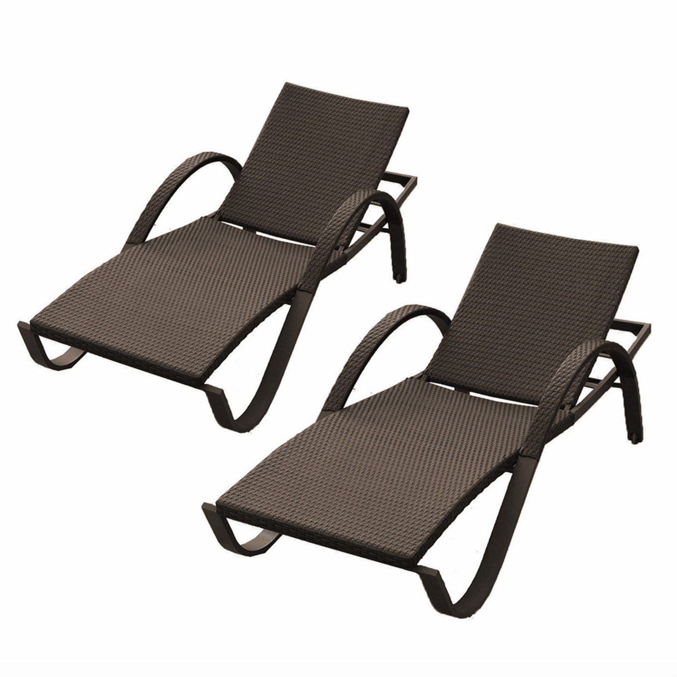 Deco chaise lounges 2pk rst brands for Chaise longue deco