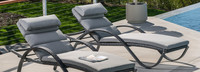 Deco™ Chaise Lounges with Cushions - Moroccan Cream