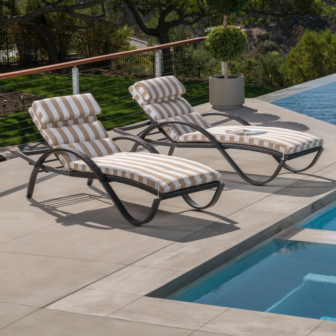 Deco chaise lounge 2pk maxim beige rst brands - Deco lounge grijs en beige ...