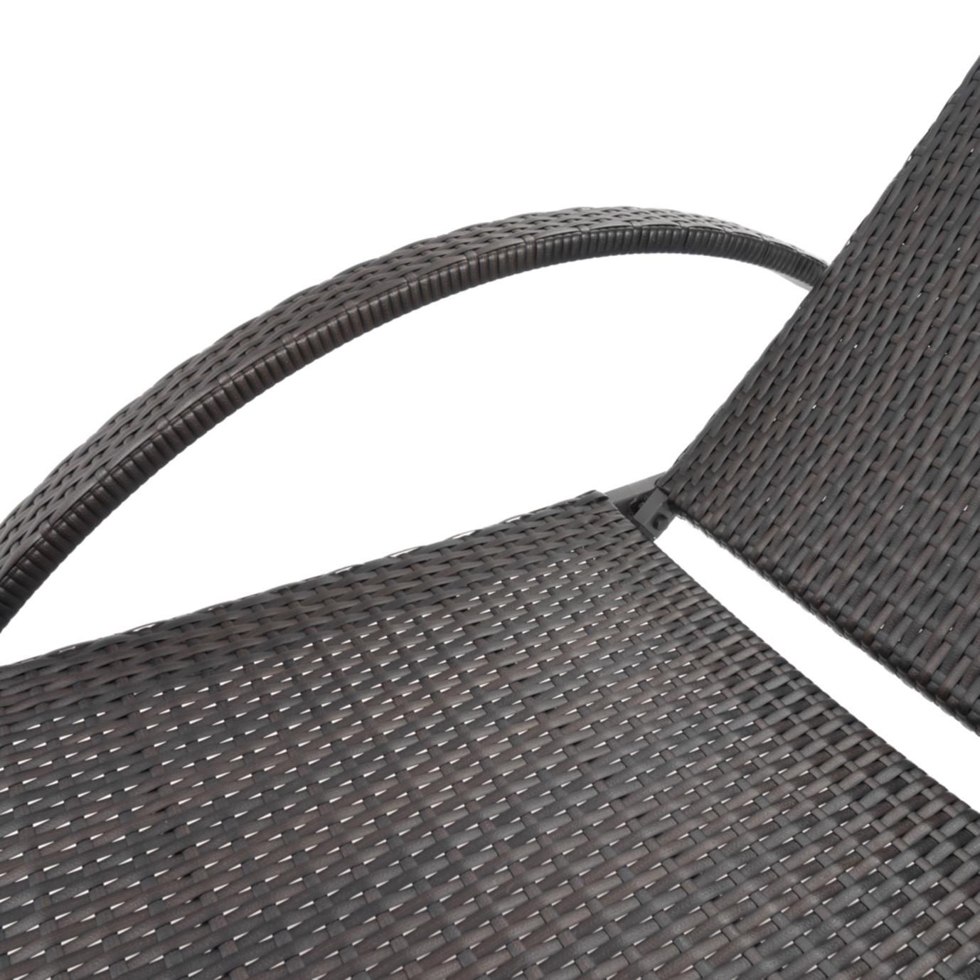 Deco™ Chaise Lounges with Cushions - Regatta Blue