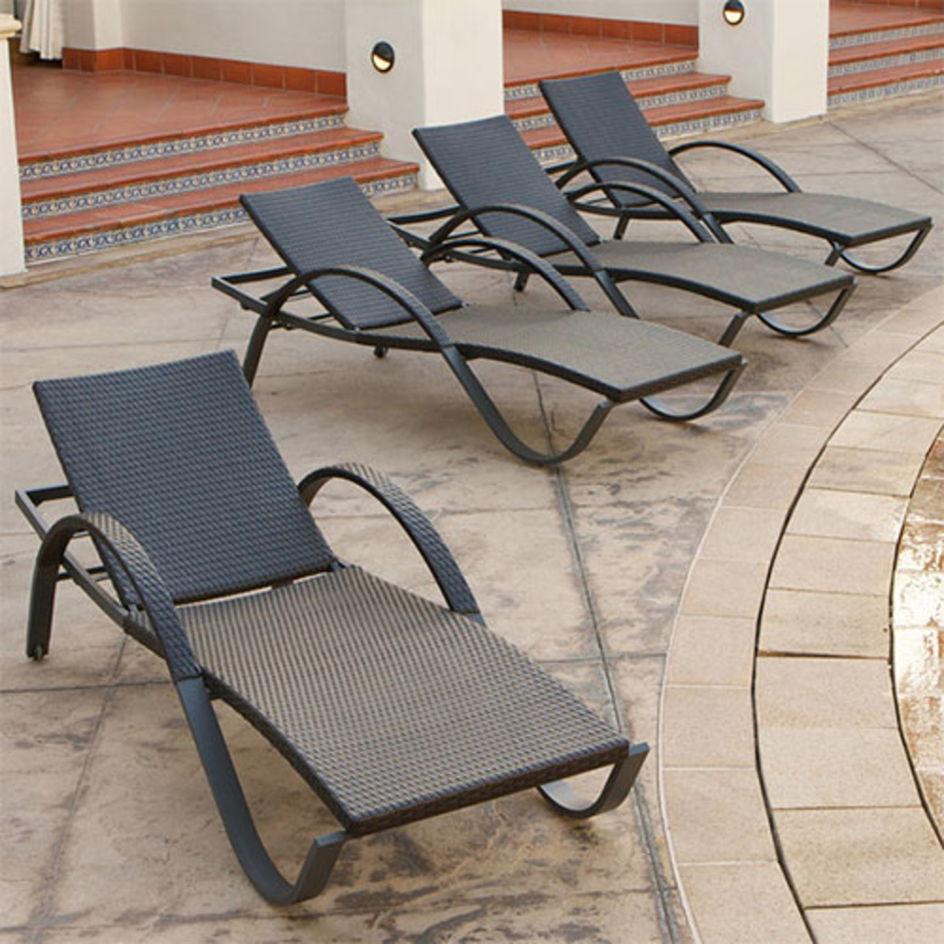 Deco™ Chaise Lounges 4pk