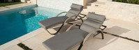 Cannes™ Chaise Lounges with Cushions - Ginkgo Green