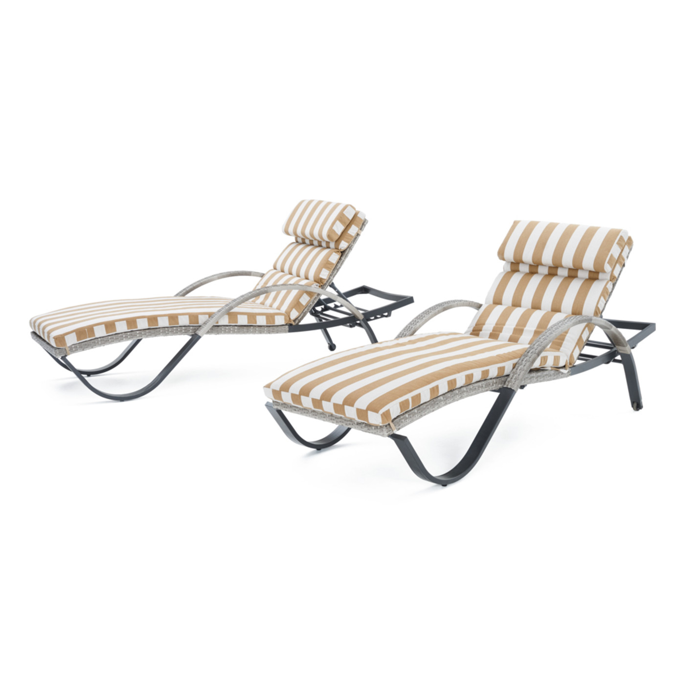 Cannes™ Chaise Lounge 2pk - Maxim Beige