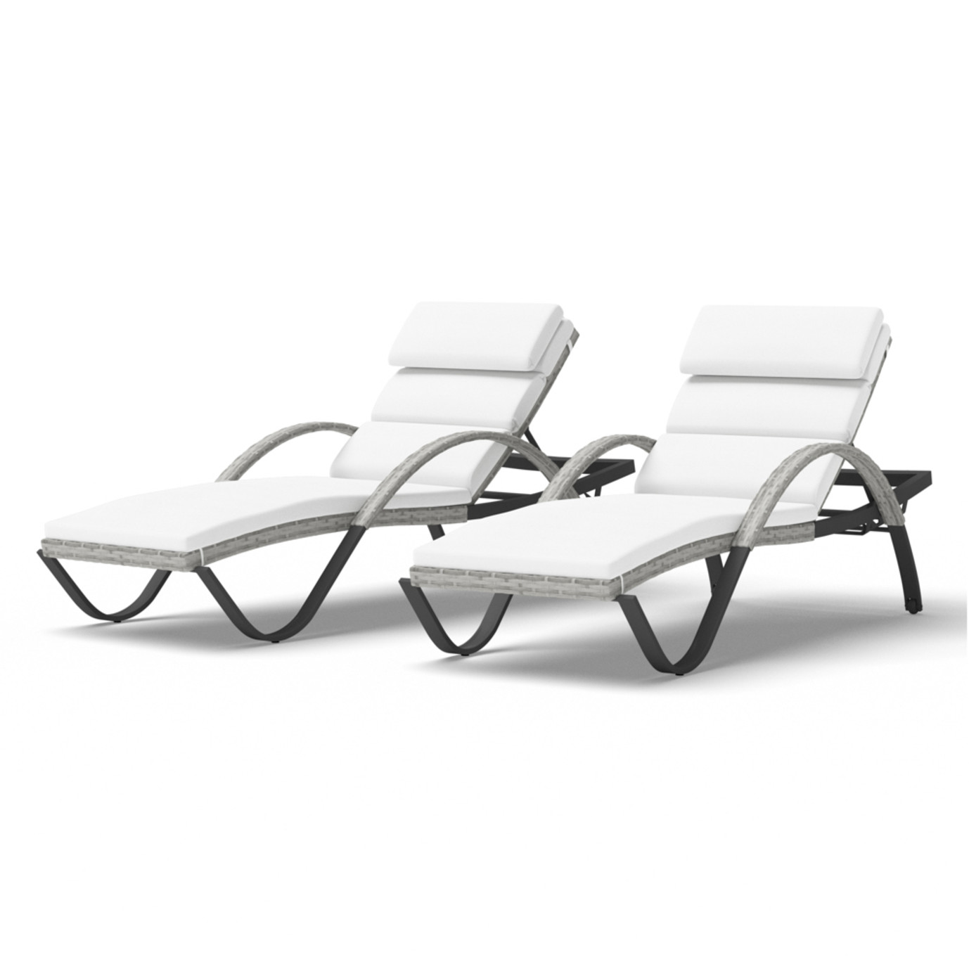 Cannes™ Chaise Lounges with Cushions
