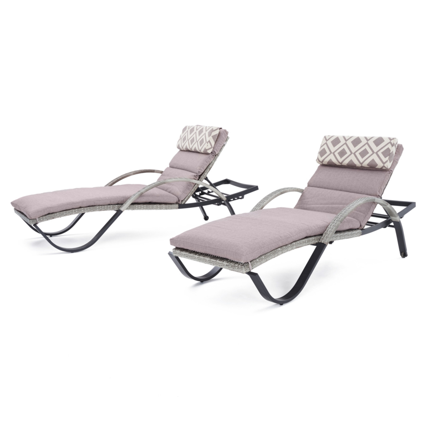 Cannes™ Chaise Lounge 2pk- Wisteria Lavender