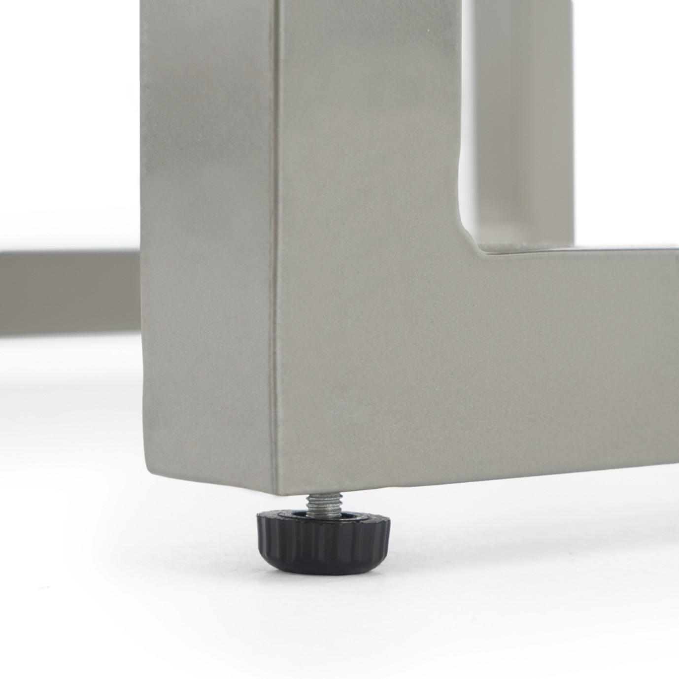 Milo™ Espresso Chaise Lounges - Slate Gray