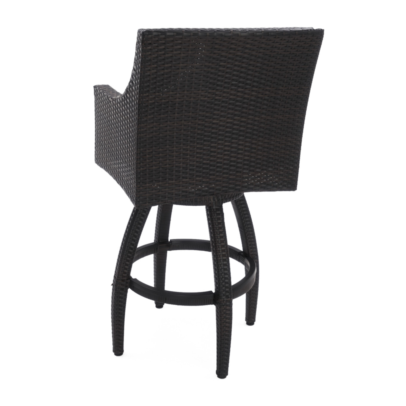 Deco™ Swivel Barstool 2pk - Charcoal Gray